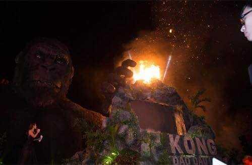 Hien truong tro sat vun sau dam chay thieu rui san khau 'Kong: Skull Island' hinh anh 2