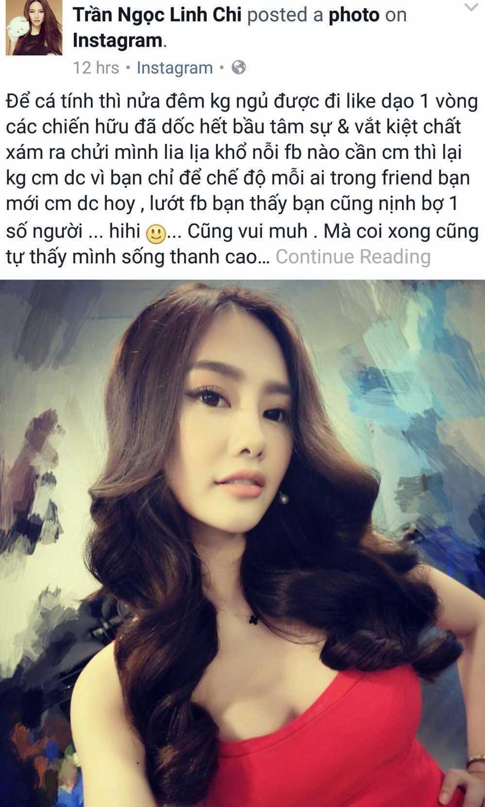 Linh Chi to vo cu Lam Vinh Hai gia tao, ham hai chong hinh anh 1