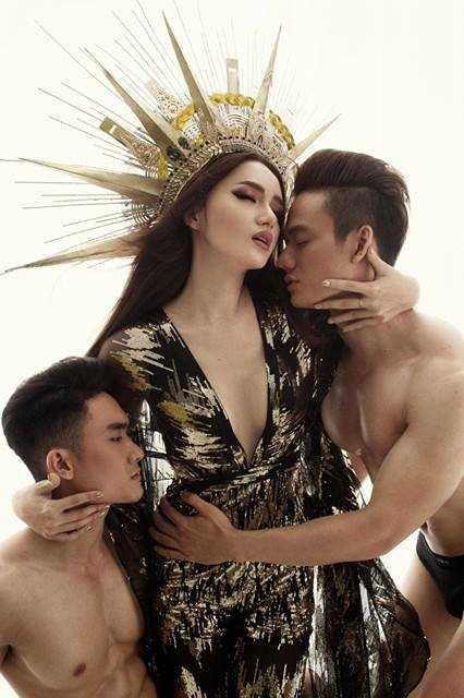 Huong Giang Idol 'dao' hinh tuong nu than cua Beyonce? hinh anh 7