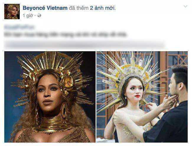Huong Giang Idol 'dao' hinh tuong nu than cua Beyonce? hinh anh 4