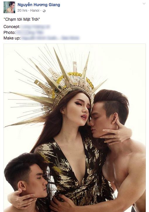 Huong Giang Idol 'dao' hinh tuong nu than cua Beyonce? hinh anh 1
