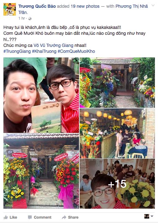 Truong Giang tro tai nau an, Nha Phuong tat ta ho tro hinh anh 3