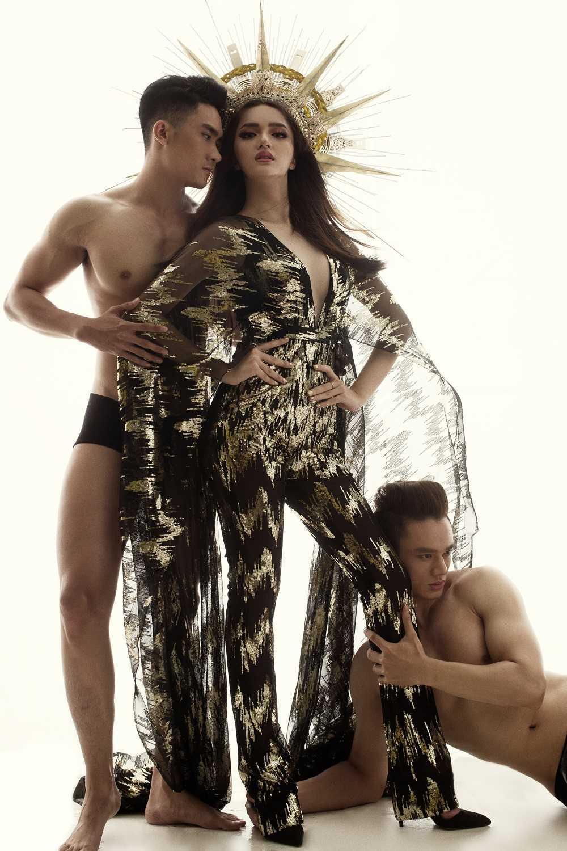 Huong Giang chuyen gioi sexy trong bo anh bi to 'dao nhai' Beyonce hinh anh 6