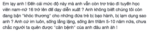 Khong con liem si, Minh Beo dang tuyen dien vien hinh anh 3