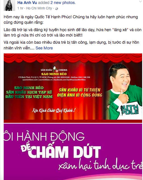 Ha Anh goi Minh Beo la thanh phan can ba, can duoc thanh loc hinh anh 1