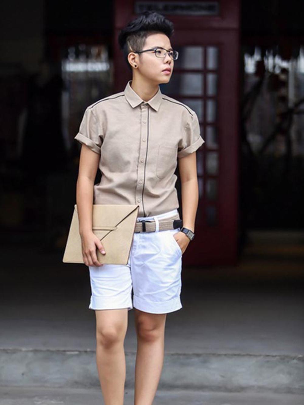 Khong the tin 'tomboy' Vu Cat Tuong cung co luc dien vay hong cuc nu tinh hinh anh 5