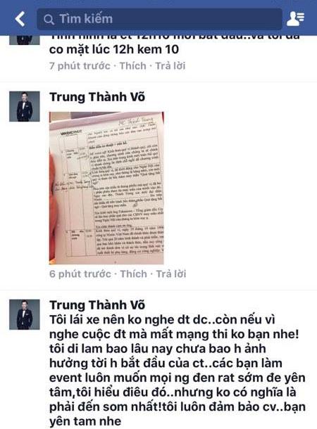 Bi 'to' vo trach nhiem khien gan 6000 nguoi cho doi, MC Thanh Trung phan phao hinh anh 2