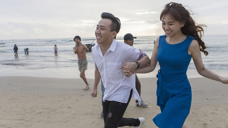 Nhung hinh anh ngot ngao cua Tran Thanh va Hari Won 3 thang sau khi cuoi hinh anh 10