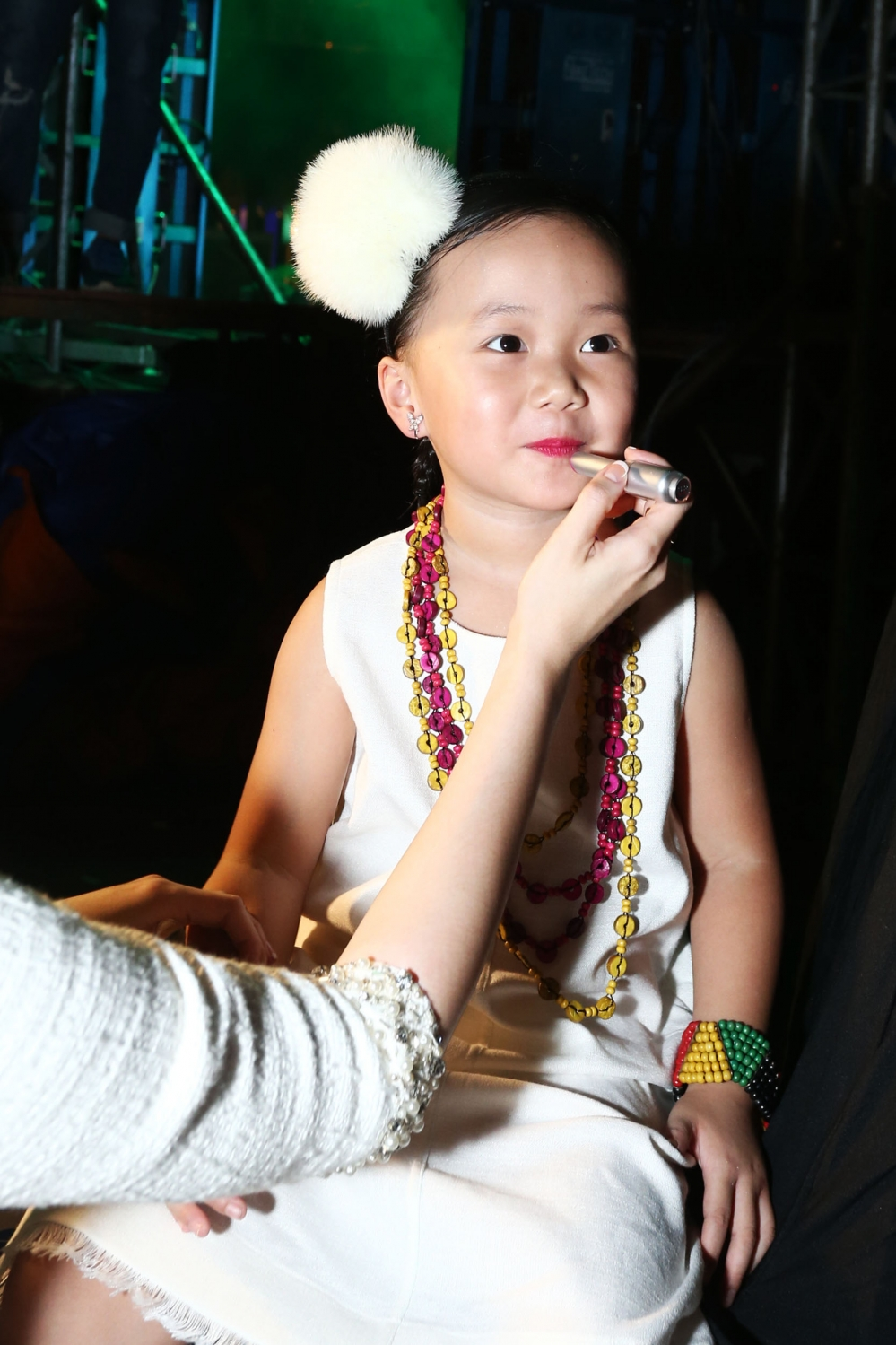 'Tieu cong chua' nha Linh Nga, Ha Kieu Anh cang lon cang dang yeu hinh anh 3