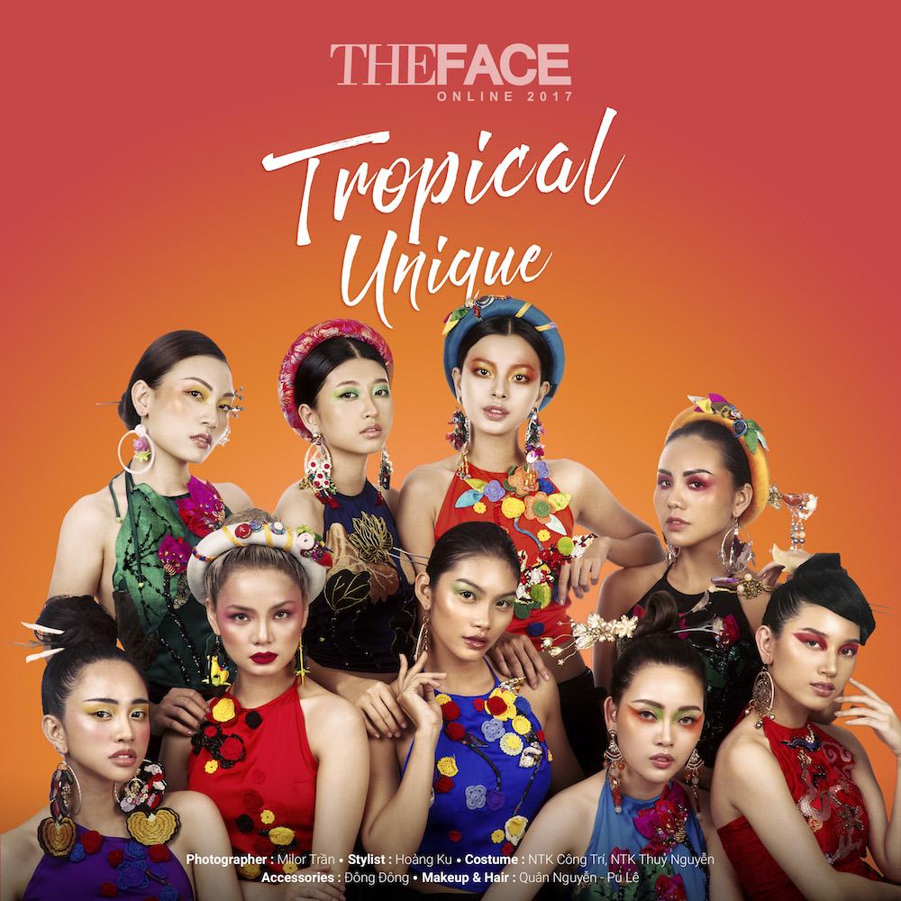 Tinh cu Le Hieu dep ngo ngang trong thu thach 'The Face 2017' hinh anh 1