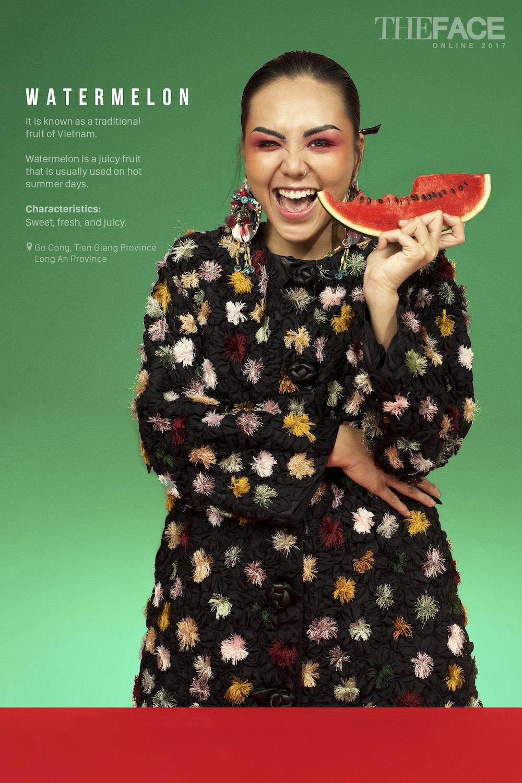 Tinh cu Le Hieu dep ngo ngang trong thu thach 'The Face 2017' hinh anh 8