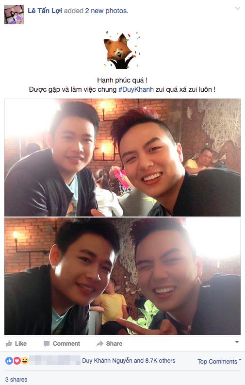 Hot boy tra sua hop tac cung 'nguoi tinh tin don' cua Tran Thanh hinh anh 1