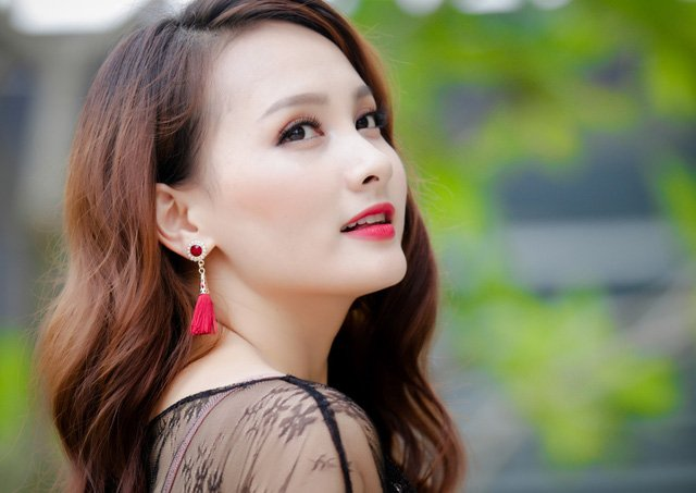 Nhan sac sexy cua my nhan dong 'Nguoi phan xu', 'Song chung voi me chong' hinh anh 12