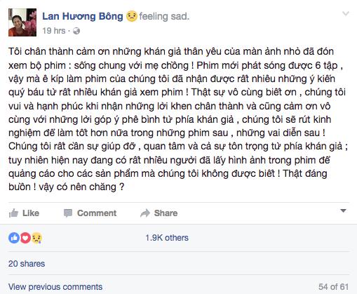 NSND Lan Huong 'Song chung voi me chong' buc xuc vi bi lam dung hinh anh hinh anh 1