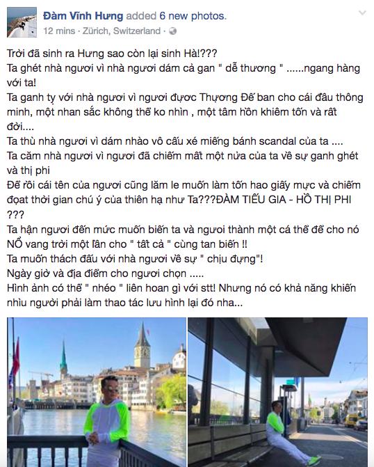 Tung than thiet voi Minh Hang, Dam Vinh Hung van benh vuc Ha Ho giua bao scandal hinh anh 1