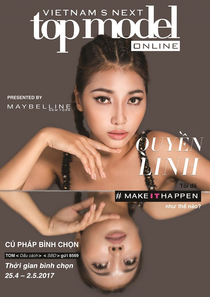 Lo dien 20 guong mat lot Top Model Online 2017 hinh anh 1