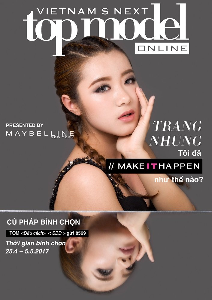 Lo dien 20 guong mat lot Top Model Online 2017 hinh anh 17