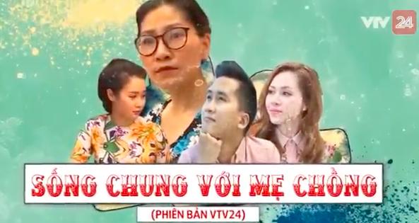 'Song chung voi me chong' phien ban BTV truyen hinh VTV24 gay 'sot' hinh anh 1