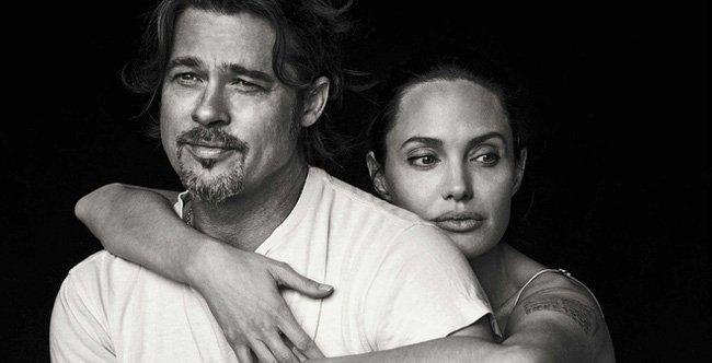 Angelina Jolie ben Brad Pitt cung giot nuoc mat va nu cuoi trong suot 12 nam qua hinh anh 12