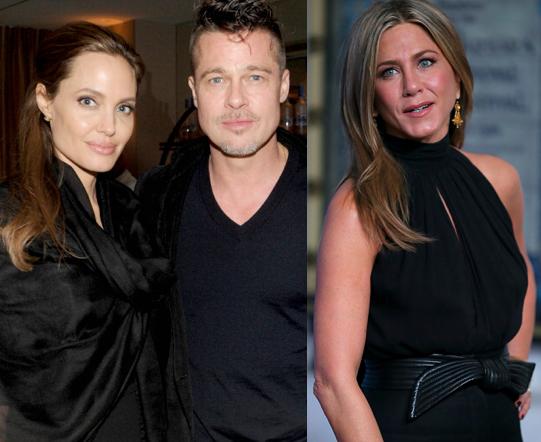 Angelina Jolie ben Brad Pitt cung giot nuoc mat va nu cuoi trong suot 12 nam qua hinh anh 2