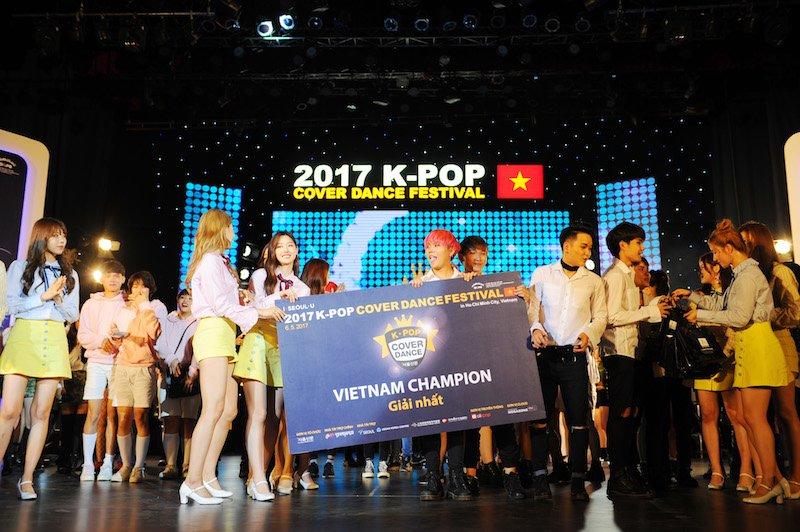 Nhom nhay Supernova dai dien Viet Nam tham du K-pop Cover Dance Festival hinh anh 2