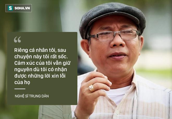 Bi Huong Giang Idol xuc pham, nghe si Trung Dan bo ngang ghi hinh gameshow hinh anh 4