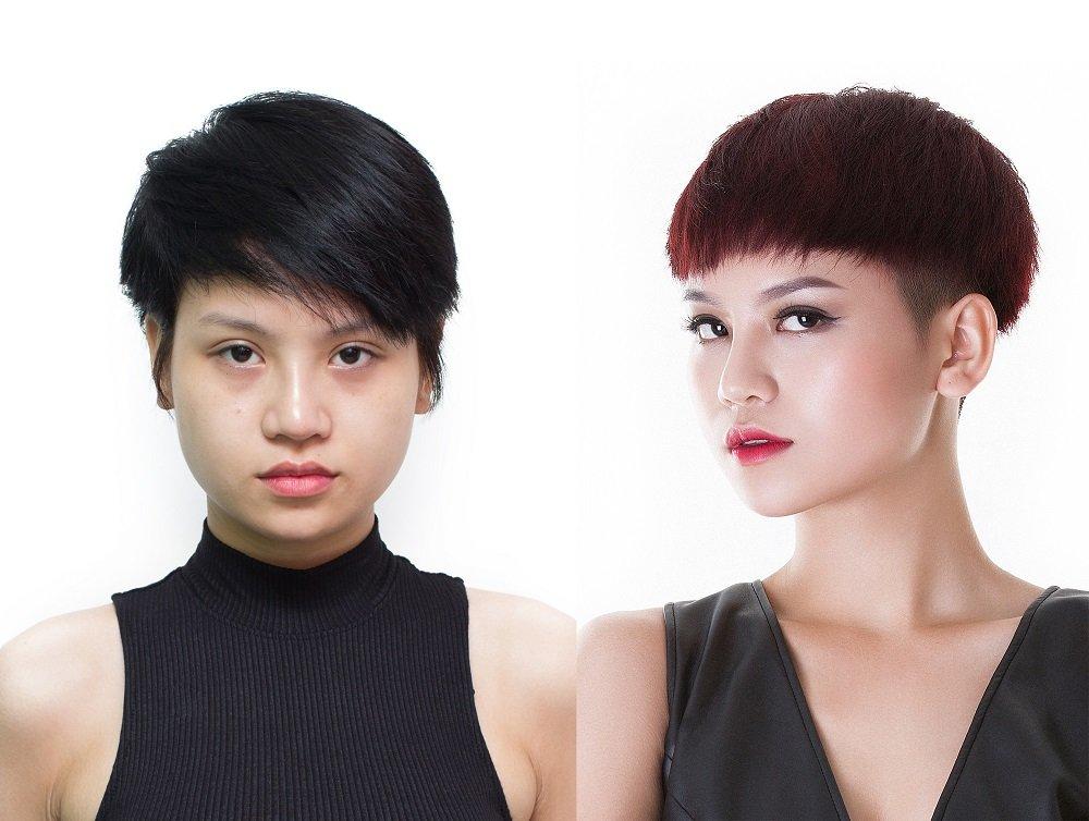 Nhan sac 'lot xac' hau dao keo cua dan my nhan Vietnam's Next Top Model - All Stars hinh anh 4