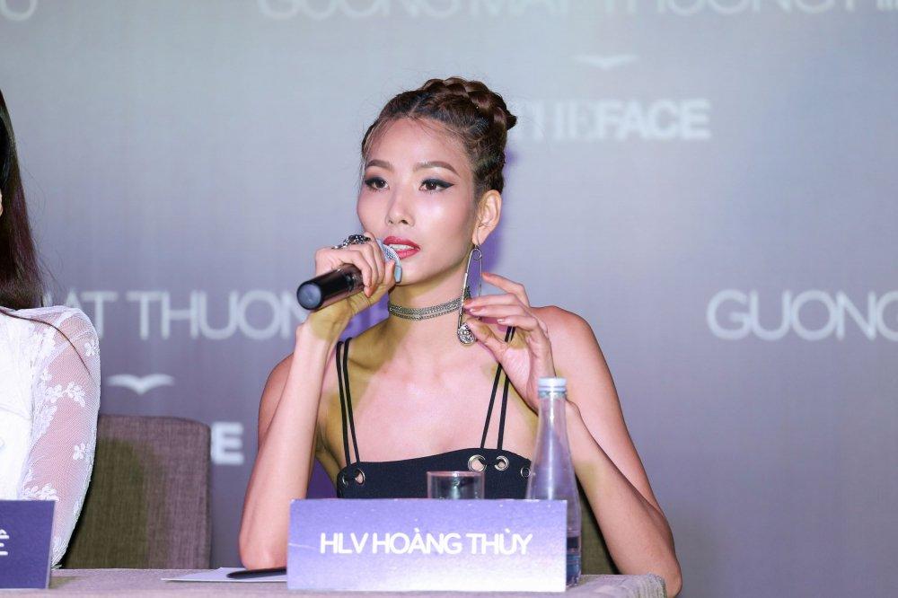 Hoang Thuy len tieng truoc tin don bi chen ep tai 'The Face' hinh anh 11