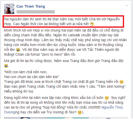 Cao Thien Trang bi 'nem da' vi gia tao, dim hang Lai Thanh Huong hinh anh 2