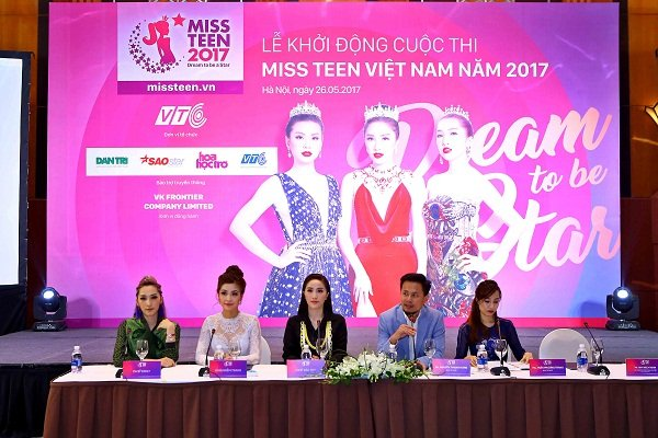 Dan sao Viet do ve sexy tai le khoi dong cuoc thi 'Miss Teen 2017' hinh anh 1