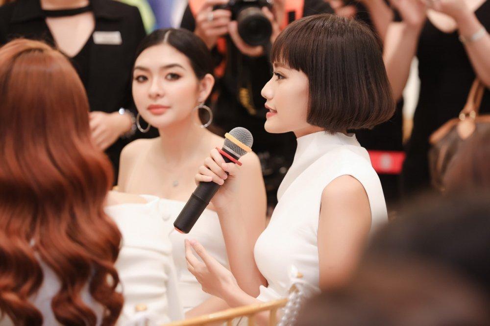 Kim Chi 'The Face' cham chut em ho Truong Ngoc Anh tung li tung ti hinh anh 10