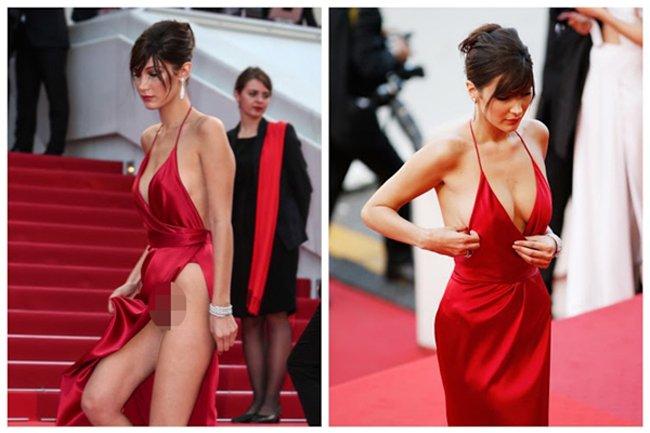 Loat scandal lo hang cua Pham Bang Bang, Duong Mich... tren tham do Cannes hinh anh 1