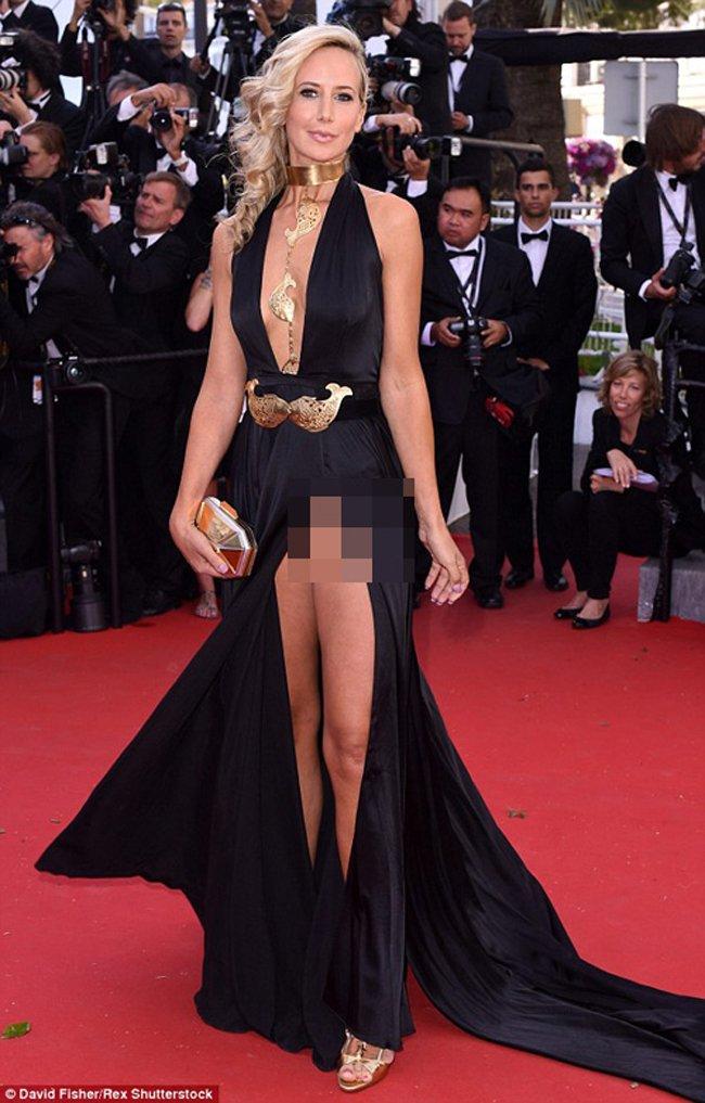 Loat scandal lo hang cua Pham Bang Bang, Duong Mich... tren tham do Cannes hinh anh 6