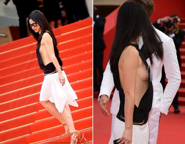 Loat scandal lo hang cua Pham Bang Bang, Duong Mich... tren tham do Cannes hinh anh 14