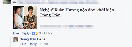 Nghe si Xuan Huong chinh thuc kien, Trang Tran van nhon nho thach thuc du luan hinh anh 3