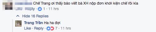 Nghe si Xuan Huong chinh thuc kien, Trang Tran van nhon nho thach thuc du luan hinh anh 4