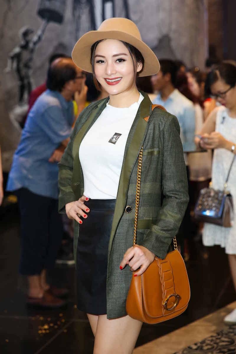 Trang Tran tai xuat hau scandal, do sac voi Ngoc Thanh Tam hinh anh 11