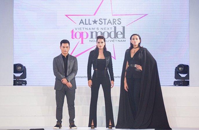 Truong Ngoc Anh - Hoang Yen than thiet, xoa tin don bat hoa tai 'Vietnam's Next Top Model' hinh anh 1