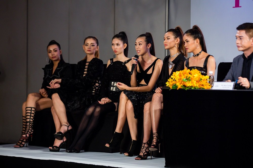 Truong Ngoc Anh - Hoang Yen than thiet, xoa tin don bat hoa tai 'Vietnam's Next Top Model' hinh anh 4