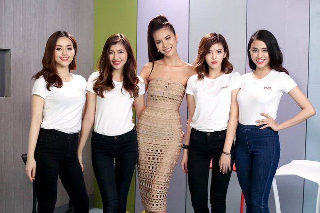 Xem 'The Face 2017' tap 1 len song VTV3 luc 21h10 ngay 11/6 hinh anh 4