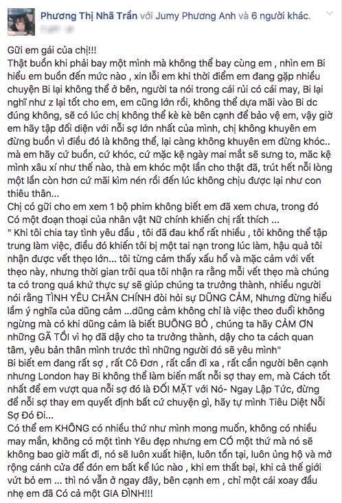Nha Phuong 'muon' em gai viet tam thu chia tay Truong Giang? hinh anh 3