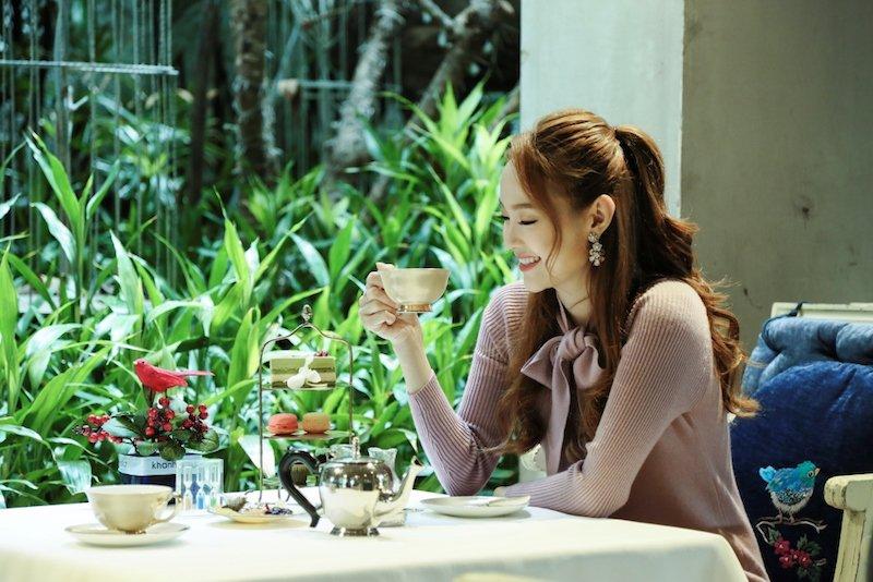 Minh Hang dien dam ngan, thanh thoi thuong tra hinh anh 6