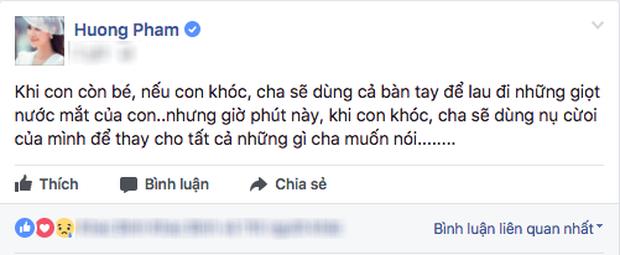 Bo Pham Huong qua doi sau thoi gian chong choi voi benh hiem ngheo hinh anh 1
