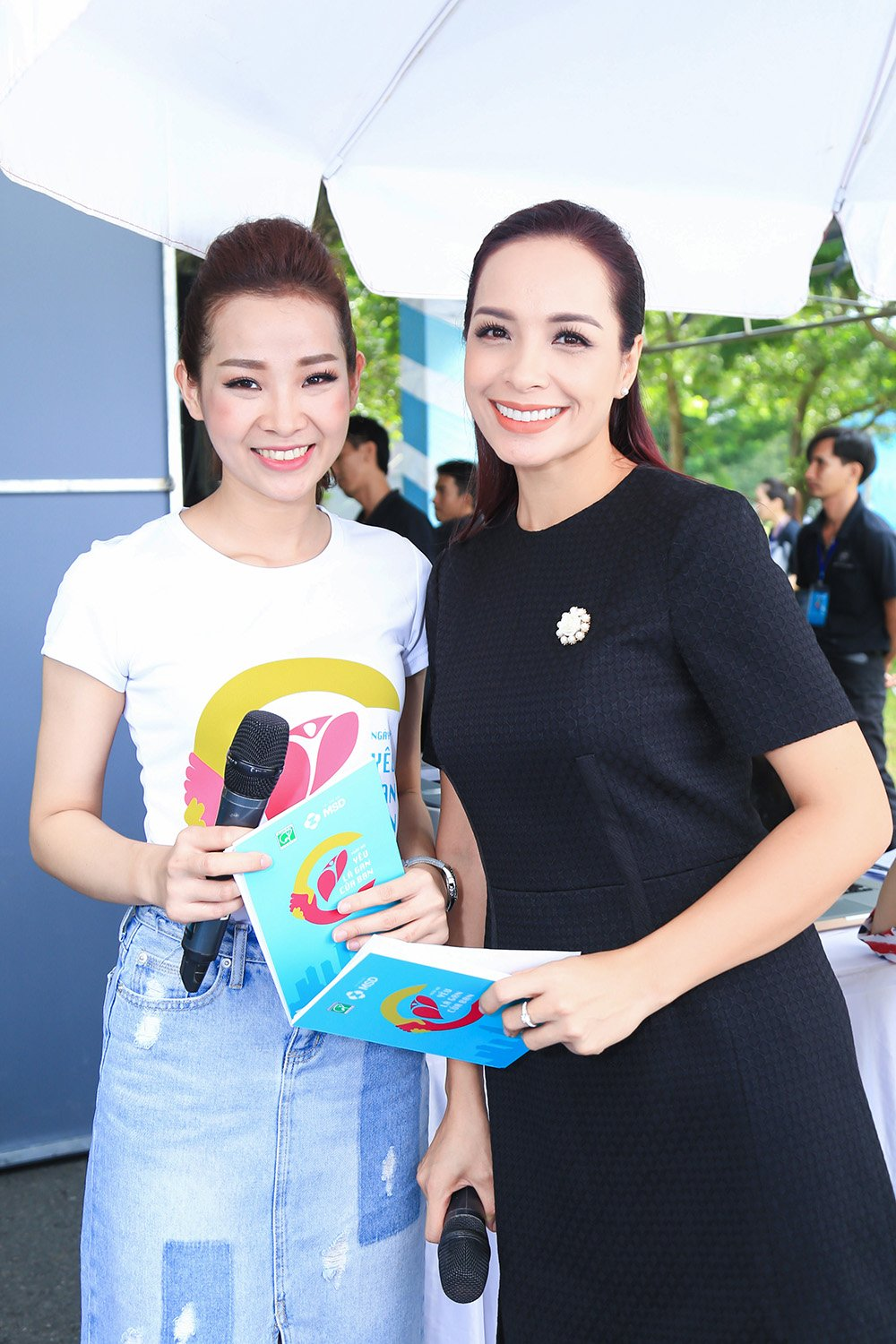 O tuoi 40, Thuy Hanh van tu tin do sac voi nu MC 9x hinh anh 4