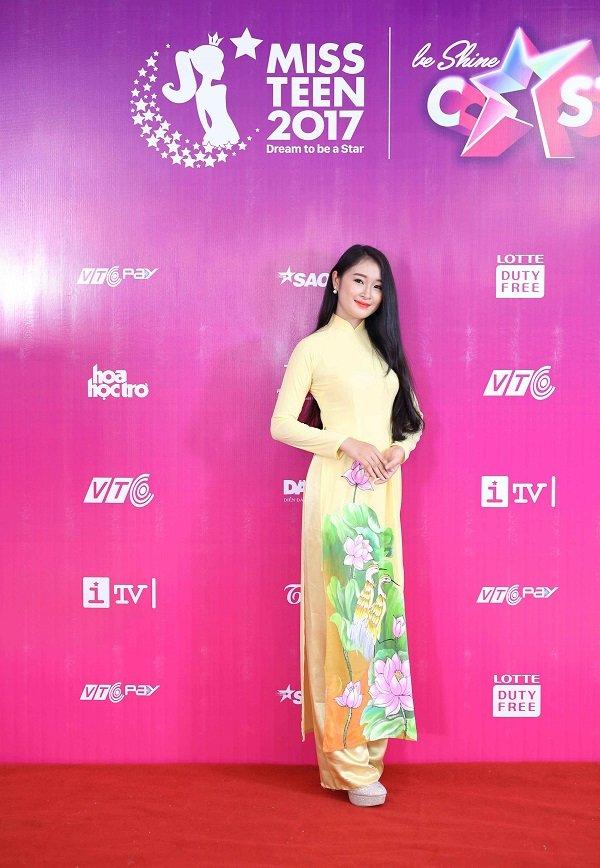 Top 100 Miss Teen 2017 gay 'sot' vi qua xinh dep hinh anh 7