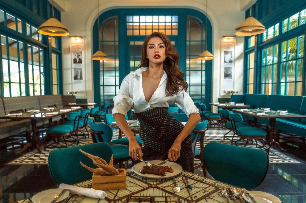 'Angelina Jolie phien ban Viet' tre nai khoe vong 1 ho hung hinh anh 4