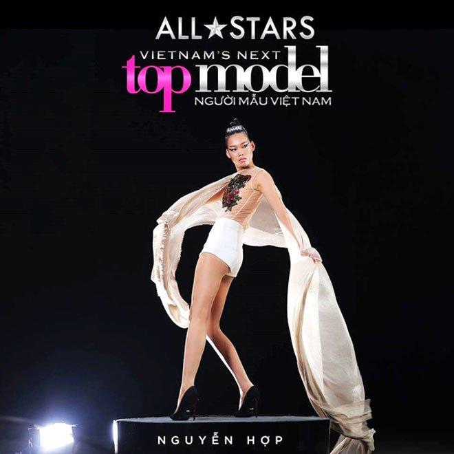 Nguyen Hop xoa danh hieu 'thanh dien' nho Vietnam's Next Top Model - All Stars hinh anh 2
