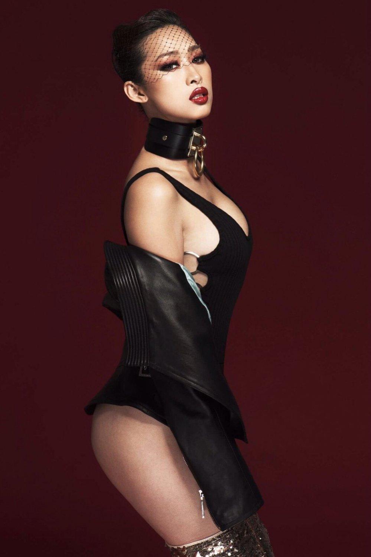 'Bom sexy' Quynh Thy dung hang Taylor Swift trong MV moi hinh anh 1