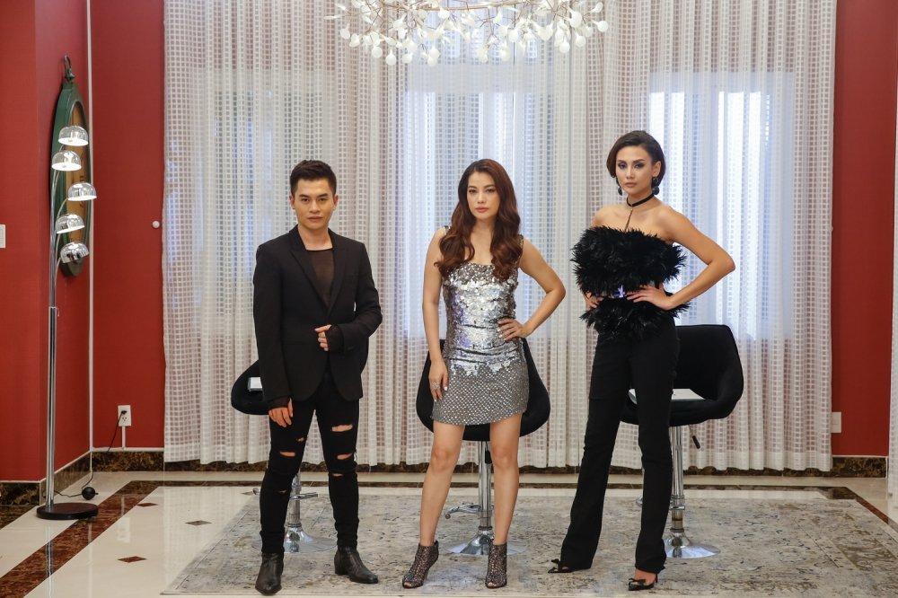 Giai ma gu thoi trang an tuong cua Vo Hoang Yen tai 'Vietnam's Next Top Model - All Stars' hinh anh 2