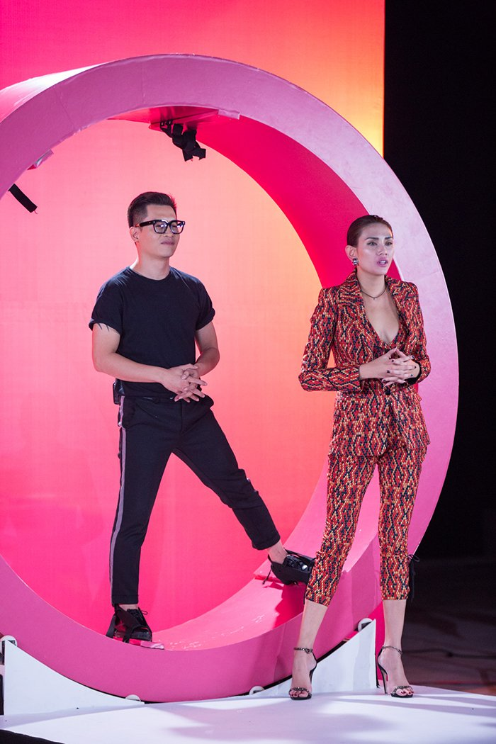 Giai ma gu thoi trang an tuong cua Vo Hoang Yen tai 'Vietnam's Next Top Model - All Stars' hinh anh 18